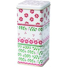 Greta Festive Stackable Storage Tins