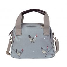 Sophie Allport Chicken Oilcloth Mini Stamford Bag