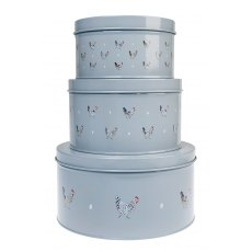 Sophie Allport Chicken Cake Tins (Set of 3)