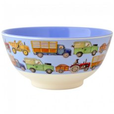 Emma Bridgewater Men At Work Melamine Bowl