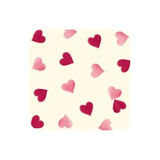 Emma Bridgewater Pink Hearts set of 4 Coasters