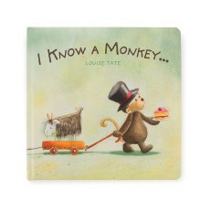 I Know A Monkey... Book