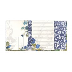 Blue Notepad Folio