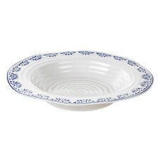 Sophie Conran Blue Rimmed Soup Plate Betty