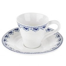 Sophie Conran Blue Espresso Cup & Saucer Betty