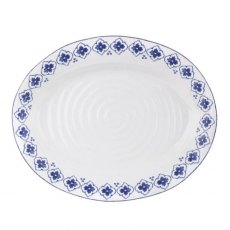 Sophie Conran Blue Medium Oval Platter Eliza