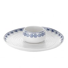Sophie Conran Blue Dipping Dish & Platter