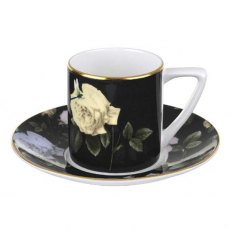 Ted Baker Portmeirion Rosie Lee Black Espresso Cup