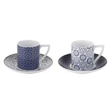 Ted Baker Ancona Espresso Cup & Saucer Set of 2