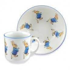 Beatrix Potters Peter Rabbit Nursery 2pc Eat Set