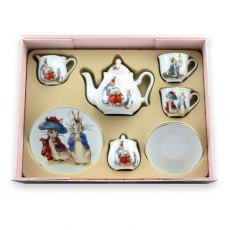 Beatrix Potter Teaset For Two Peter Rabbit