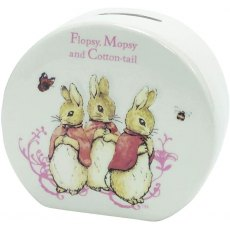 Beatrix Potter Flopsy Money Box