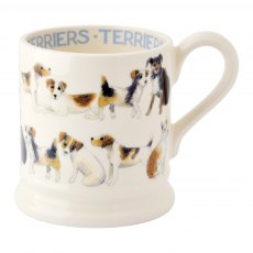 Emma Bridgewater Terrier All Over 1/2 Pint Mug