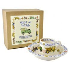 Emma Bridgewater Men At Work S/2 Boxed