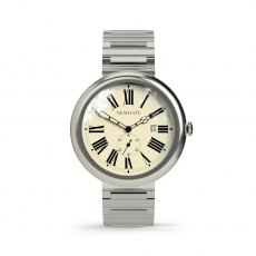 Liberty Watch Grand Roman Dial - Stainless Steel