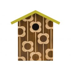 Orla Kiely Wooden Bird House