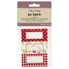 Jar Labels 30pc Orchard Design