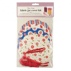 Fabric Jar Covers Heart
