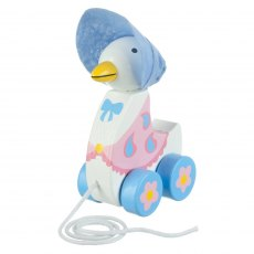 Jemima Puddleduck Wooden Pull Along