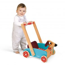 Janod Crazy Doggy Cart (Wood)