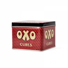 Small Oxo Cubes Storage Tin