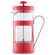 Monaco Cafetiere 8 Cup Red