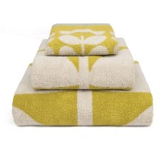 Orla Kiely Kids Bath Towel Giant Flower Yellow