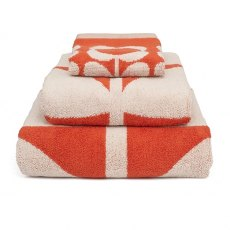 Orla Kiely Kids Bath Towel Giant Flower Red