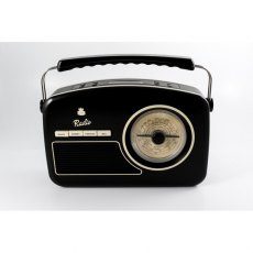 GPO Rydell DAB Radio in Black