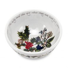 The Holly & The Ivy Fruit Salad Bowl (5.5 inch)