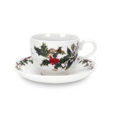 The Holly & The Ivy Teacup & Saucer