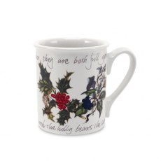 The Holly & The Ivy Breakfast Mug 9oz