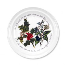 "The Holly & The Ivy 6"" Plate"