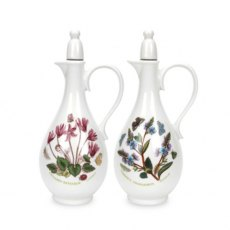 Botanic Garden Oil & Vinegar Bottles - Romantic Shape