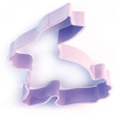 Lilac Bunny Cookie Cutter