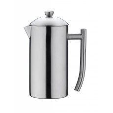 Double Wall Coffee Maker 800ml Satin