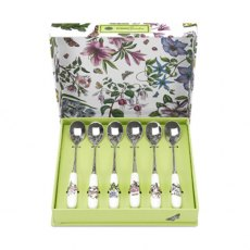 Botanic Garden Set of 6 Teaspoons