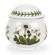 Botanic Garden Covered Sugar Bowl - Romantic Shape