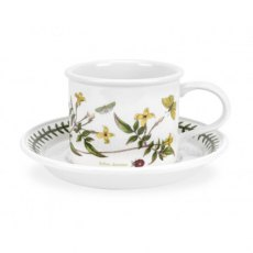 Botanic Garden Drum Shape Teacup & Saucer