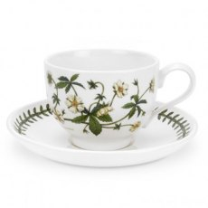 Botanic Garden Breakfast Traditional Shape Cup & Saucer
