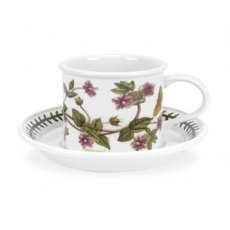Botanic Garden Breakfast Drum Shape Cup & Saucer