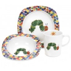 The Very Hungry Caterpillar Mug, Plate and Bowl Se