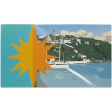 Portmeirion Greeting / Occasion Card & Envelope: Skyline