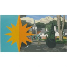 Portmeirion Greeting / Occasion Card & Envelope: Town Hall