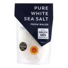 Halen Mon Finer Flake Pure White Sea Salt (100g)