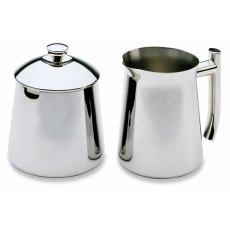 Stainless Steel Milk & Sugar Bowl Set 250ml