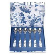 Botanic Blue Set of 6 Teaspoons