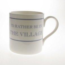 The Prisoner Fine Bone China Mug: I'd Rather Be in The Village