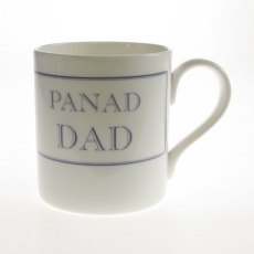 Myg Cymraeg Panad Dad Bone China Welsh Mug