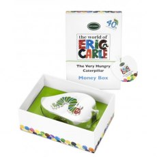 The Very Hungry Caterpillar Silver Plated Money Box